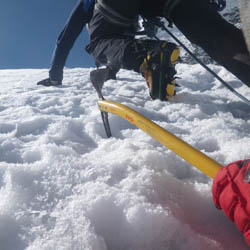 Winter Climbing Snow