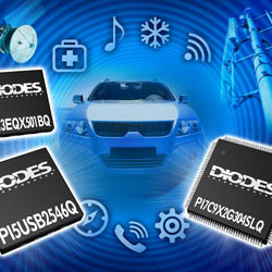 Diodes PR Marketing Photo Montage
