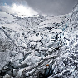 Le Glacier du Tours in the French Alps
