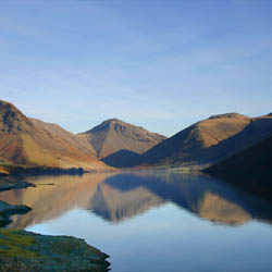 Wast Water Wasdale Cumbria Mountains