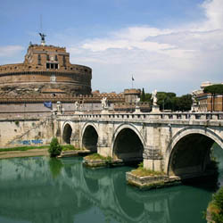 Ponte Sant'Angelo, The Bridge of Angels - Rome