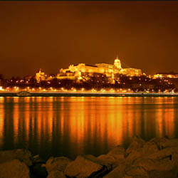 Budapest Castle on the Danube Hungary